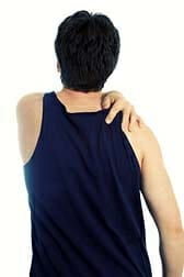 Shoulder bursitis relief