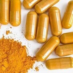 Curcumin supplements black piperine