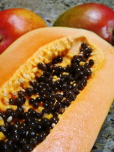Papaya pretolytic enzymes