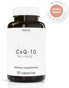 Estora coq10 Coenzyme q10 supplement