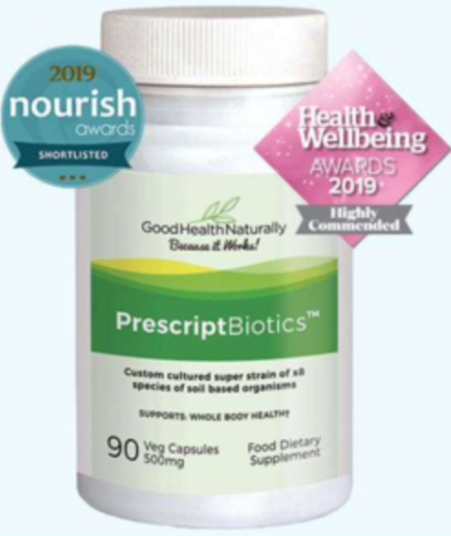 Prescription biotics award winning