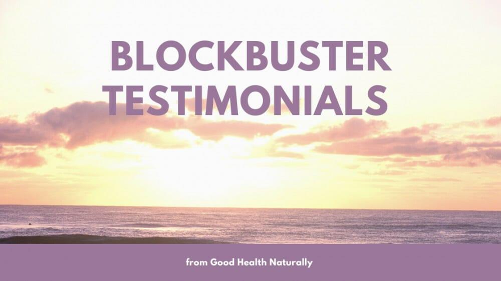 Blockbuster allclear testimonials