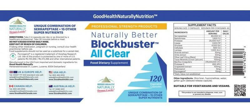 Blockbuster allclear label