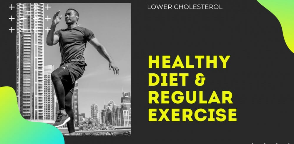 Healthy diet regular exercise
