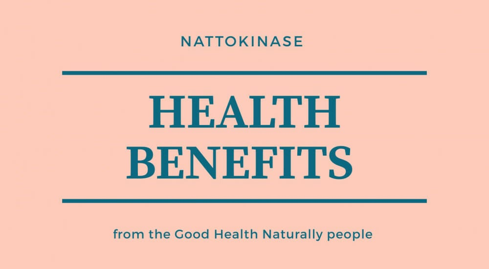 Nattokinase health benefits