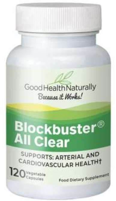 Blockbuster allclear how to remove plaque in arteries