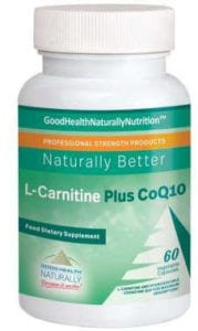 L carnitine plus Coenzyme Q10