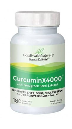 What's the best supplement for joint pain Curcumin 4000x