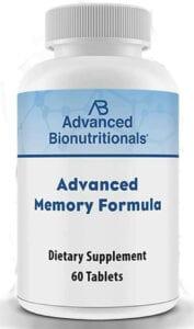 Advanced memory formula Bionutritionals