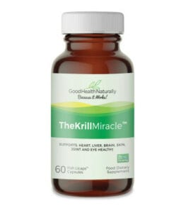 Supplements to improve blood flow the krill miraclr
