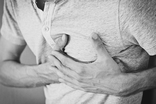 Heart attack reversing calcification of the arteries