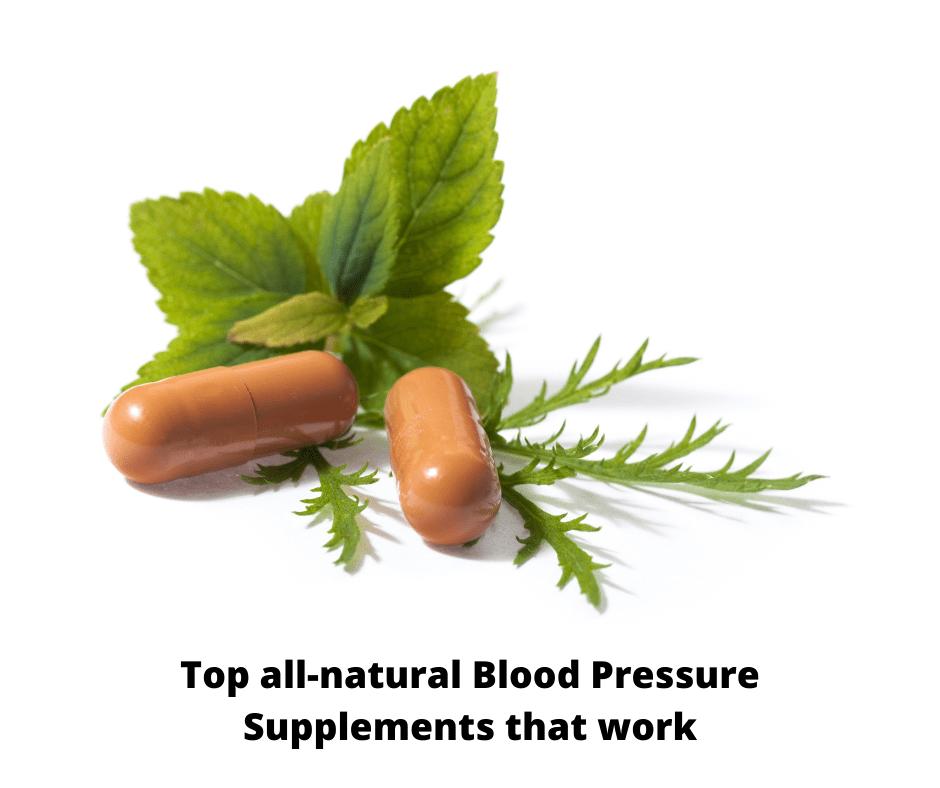 Best herbal supplements blood pressure