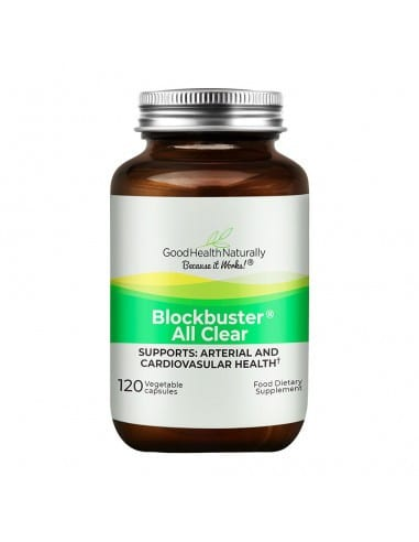 Blockbuster allclear what removes plaque in arteries