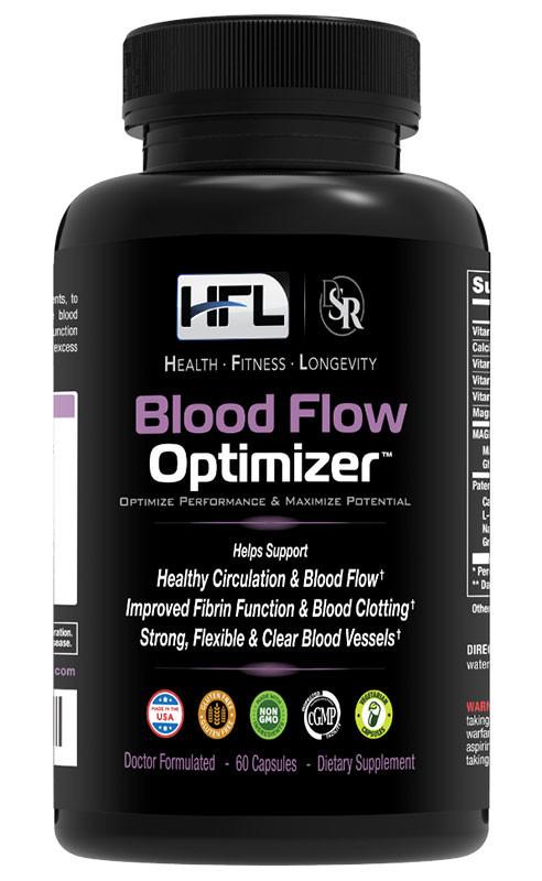 Blood flow supplements blood flow Optimizer dr Sam Robbins