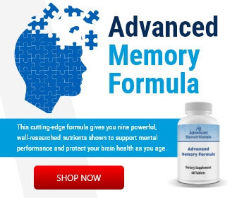 What memory supplements Advanced memory formula